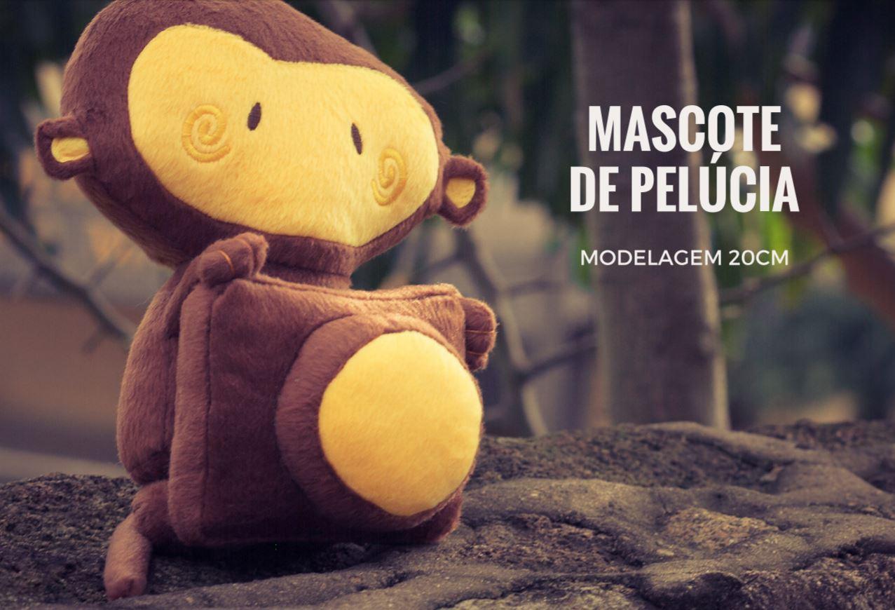Mascote de Pelúcia do Bananinha