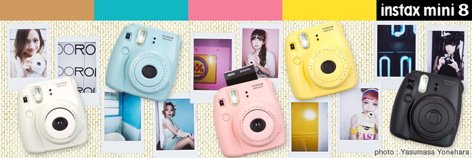 Câmeras Instax FujiFilm Mini 8